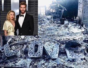 Nhà bị thiêu rụi, vị hôn phu của Miley Cyrus viết tâm thư cảm ơn lính cứu hỏa