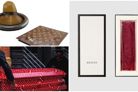 Hết chuyện, bao cao su, nhang và quan tài cũng được Chanel, LV sản xuất rầm rộ