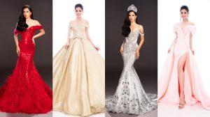 Lộ diện 4 chiếc đầm dạ hội Hoa hậu Tiểu Vy mang đến Miss World 2018?