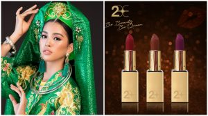 Thương hiệu son 2BE đồng hành cùng Hoa Hậu Trần Tiểu Vy tại đấu trường Miss World
