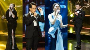 Khán giả vỡ oà với màn kết hợp của 4 giọng ca vàng: Tuấn Ngọc, Thanh Hà, Mỹ Tâm và Hà Anh Tuấn