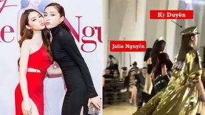 Từng tuyên bố 'Có tôi thì sẽ không có Kỳ Duyên' và đây là phản ứng của Jolie Nguyễn khi có mặt trong show diễn 'bạn cũ' làm vedette