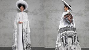 """Sau """"con Rồng cháu Tiên"""", Minh Tú mang hình ảnh """"cụ bà đẹp nhất thế giới"""" lên trang phục truyền thống"""