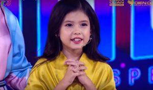 Cô bé lai 8 tuổi siêu xinh khiến Trấn Thành, Ngô Kiến Huy choáng ngợp