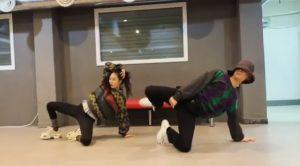 HyunA & E'Dawn lại nhảy sexy hút mắt