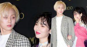 E'Dawn & HyunA lần đầu dự sự kiện sau khi rời Cube, cả rừng máy ảnh săn đón