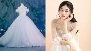 Á hậu Thanh Tú sẽ diện váy cưới 'Lọ Lem' với hơn 10.000 viên pha lê, ngọc trai