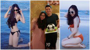 """Xinh đẹp thôi chưa đủ, bạn gái của Quang Hải U23 Việt Nam còn sở hữu thân hình """"điện nước đầy đủ"""" không kém Ngọc Trinh"""