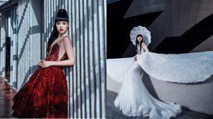 Siêu mẫu Jessica Minh Anh đẹp cổ điển, khoe thân hình chuẩn từng centimet