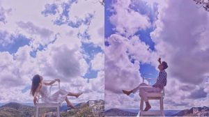 'Cầu thang vô cực' đã là dĩ vãng, giờ lên Đà Lạt phải sống ảo ngay với 'ghế săn mây' mới đúng trend