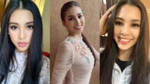 Một mình đi thi, Tiểu Vy cân luôn phần makeup: Cứ đà này lại thành luôn beauty blogger đấy Vy ơi!