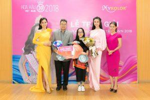 """Mykolor trao giải thưởng """"khủng"""" cho minigame Dự đoán tân Hoa hậu Việt Nam 2018"""
