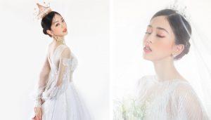 """Á hậu Phương Nga mơ về một đám cưới phong cách """"thiên đường trên mây"""""""