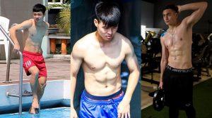 Chiêm ngưỡng body dàn cầu thủ Việt Nam: Chỉ toàn 6 múi là 6 múi!