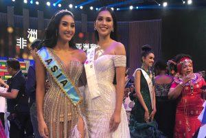 Hoa hậu Trần Tiểu Vy đọ sắc cùng Á hậu Miss World 2018, lần đầu tiên lên tiếng sau đêm thi gay cấn