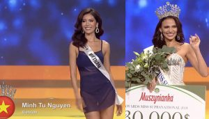 Minh Tú trượt top 5, Puerto Rico đăng quang Hoa hậu siêu quốc gia
