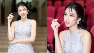 Hoa hậu Nhân ái Thùy Tiên lần đầu làm GK nhận xét bằng tiếng Anh cực đỉnh