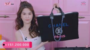 Mới than khô máu, Ngọc Trinh lại tiếp tục chi hơn nửa tỉ đồng sắm hàng hiệu, đắt nhất là túi đựng đồ lặt vặt giá 150 triệu