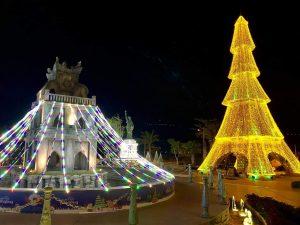 Khách sạn Danang Golden Bay tổ chức lễ thắp sáng cây thông Noel dành cho du khách