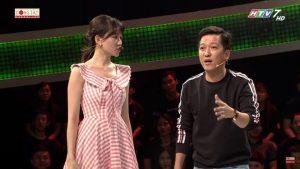 Cãi nhau với Trường Giang, Hari Won bỏ về ngay trên sóng truyền hình?
