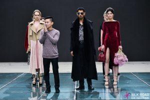 NTK Adrian Anh Tuấn trình diễn trong tuần lễ thời trang Trung Quốc