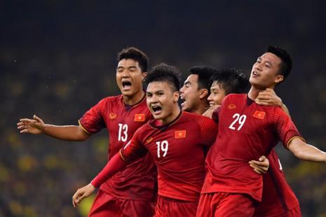 Nguyễn Huy Hùng nhận 1 tỷ đồng nhờ bàn thắng mở tỷ số tại trận chung kết lượt đi giữa Việt Nam và Malaysia trong khuôn khổ AFF Cup 2018