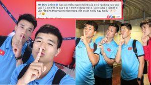 Hot: Hà Đức Chinh rủ Bùi Tiến Dũng đáp trả dư luận, khẳng định facebook chỉ 1 mình dùng