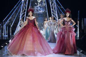 HH Đỗ Mỹ Linh, Tiểu Vy, Á hậu Phương Nga cùng hàng loạt người đẹp lộng lẫy như nữ thần trên sàn diễn thời trang