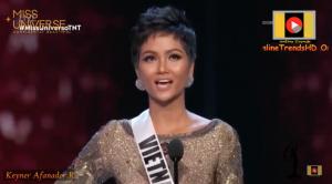 Trực tiếp từ Miss Universe 2018: H'Hen Niê lọt Top 5, trả lời câu hỏi ứng xử về phong trào #Metoo
