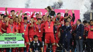 Bóng đá Việt Nam giàu thành tích thứ 3 ở khu vực Đông Nam Á
