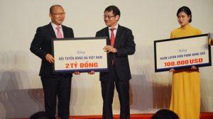 HLV Park Hang Seo dành toàn bộ tiền thưởng cá nhân cho từ thiện