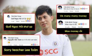 """Có tâm như """"Trọng Ỉn"""": Nói tiếng Anh nhưng vẫn cẩn thận ghi phiên âm tiếng Việt cho mọi người hiểu"""
