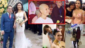 Cạo đầu đi tu nhưng sau 2 tháng người đẹp đi thi Hoa hậu quay về 'giật chồng' ân nhân của mình?