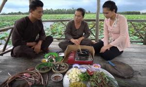Việt Nam Mến Yêu: Hiếu Nguyễn và Phương Thảo tiếp tục thưởng thức những món ngon dân dã miền Tây