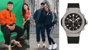 Quang Hải bắt đầu đi giày hiệu và chi hơn 300 triệu để mua đồng hồ