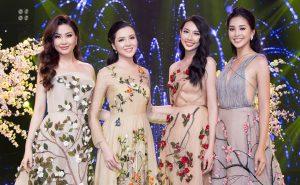 Hoa hậu Tiểu Vy, Thùy Tiên, Hoa khôi Thúy Vi xinh như mộng, chia sẻ ước muốn trong năm 2019