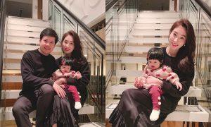 Đặng Thu Thảo cùng chồng đại gia hạnh phúc đón năm 2019 cùng con gái cưng Sophie