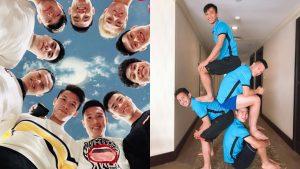 """Chụm đầu chụp ảnh thôi mà đã khiến fan rụng rời, hội cầu thủ Việt là ví dụ rõ nét nhất cho hai từ """"cực phẩm"""""""