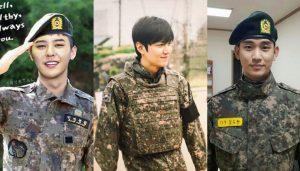 G-Dragon, Kim Soo Hyun, Lee Min Ho… cùng hàng loạt sao lớn sắp giải ngũ, hoạt động trở lại