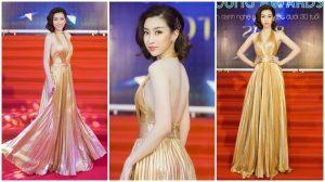 Hoa hậu Đỗ Mỹ Linh càn quét thảm đỏ, khoe nhan sắc đỉnh cao tựa nữ thần tại sự kiện