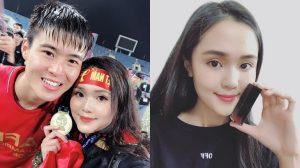 Nối gót bạn gái Quang Hải, bạn gái Duy Mạnh khiến cư dân mạng phải lắc đầu khi đang trở thành 'hot girl PR'