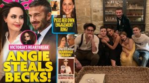 Sốc: Rộ tin Angelina Jolie muốn 'cướp' David Beckham