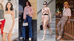 Hà Tăng khoe street style đẹp miễn chê, Chi Pu xinh như búp bê với phong cách 'vibes 2000'