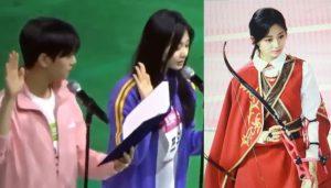 Tzuyu bắn cung bách phát bách trúng, fan nhiệt tình ship cặp với Eun Woo