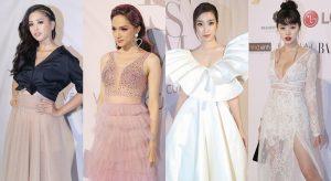 Dàn Hoa hậu Việt Nam khoe nhan sắc ấn tượng trên thảm đỏ show diễn 'Feminism' của Lý Quí Khánh