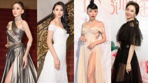 SAO MẶC ĐỈNH: Tiểu Vy lộng lẫy như bà hoàng, Hari Won gợi cảm với thời trang xuyên thấu