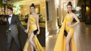"""Vừa nhận được giải thưởng lớn, """"Hân Hoa hậu"""" đã buồn hùi hụi vì bị mất túi hiệu"""