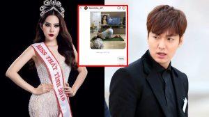 Đã đạt đến cảnh giới cao nhất: Nam Em gửi hình 'kém sang' đến Lee Min Ho