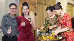 Khám phá set ăn Lion City dành riêng cho khách mời tại Lễ trao giải Mai Vàng 2018