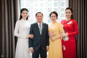 Á hậu Ngô Trà My tiết lộ lý do 2 chị em đều lấy chồng đại gia: Chỉ vì một câu nói của mẹ